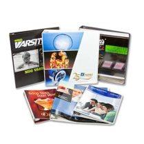 US Sheet, Mini binders, A4 4Color Binders