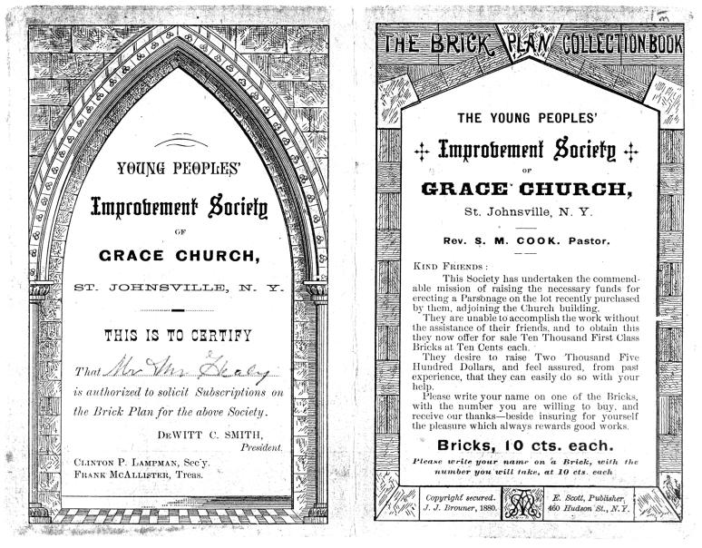 Grace Church 125th Anniversary, Improvement Society