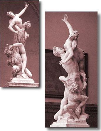 Rape of the Sabines - Giovanni Bologna