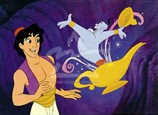 Genie in Aladdin by Disney