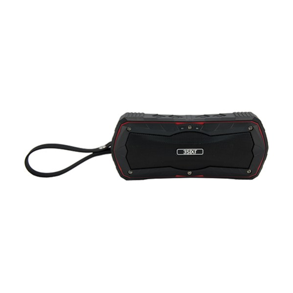 3S-0950 3SIXT SoundJet BT Speaker 4000mAh Black_Red_f