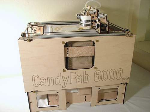 CandyFab machine