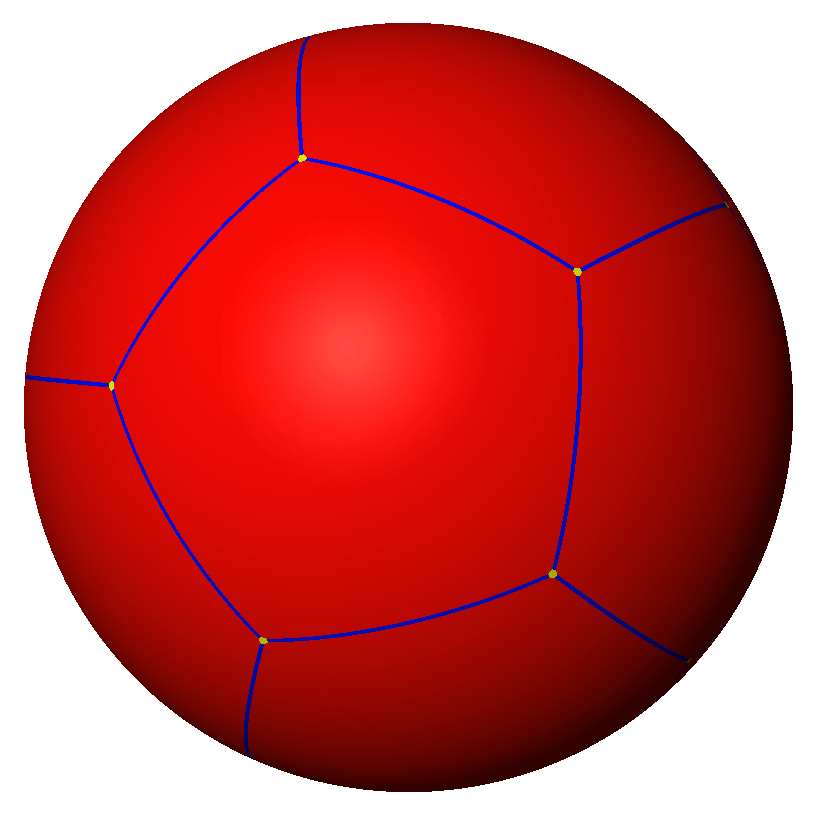 spherical dodecahedron