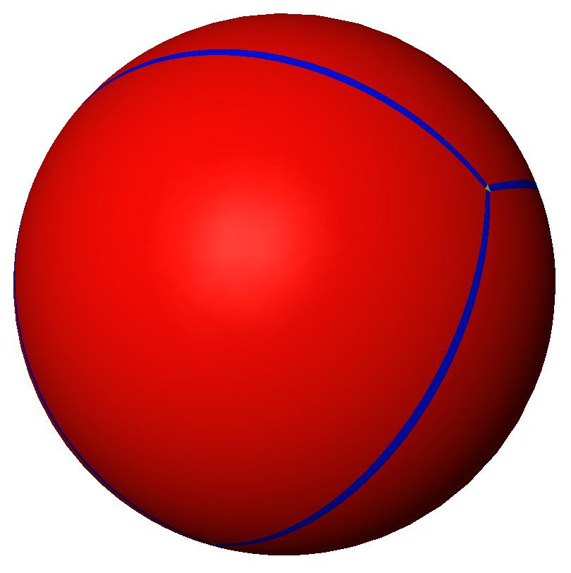 spherical tetrahedron