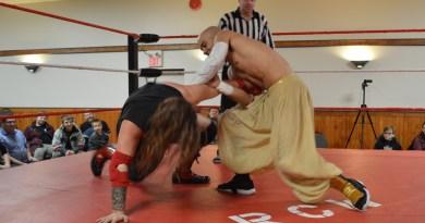 Local wrestler brings the fight to Bruderheim
