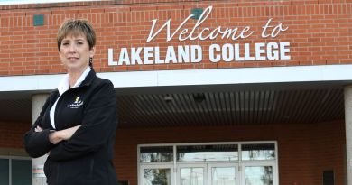 Lakeland College faculty member wins international award