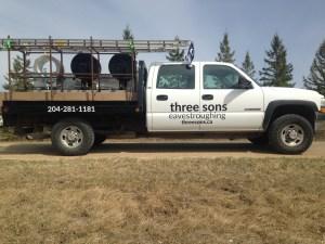 virden, souris, brandon, melita and all southwestern manitoba home repair truck