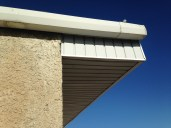 eaves corner gutter soffit Swan River Valley