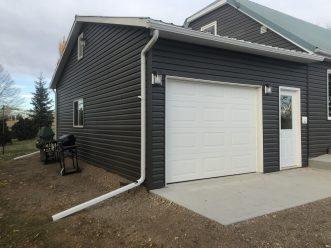 garage eaves new repair fix replace