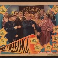 Start Cheering - Three Stooges guest stars