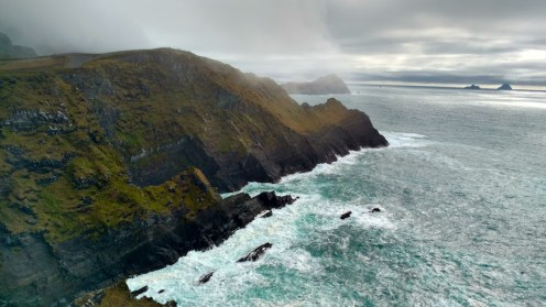 The Kerry Cliffs and Skelligs