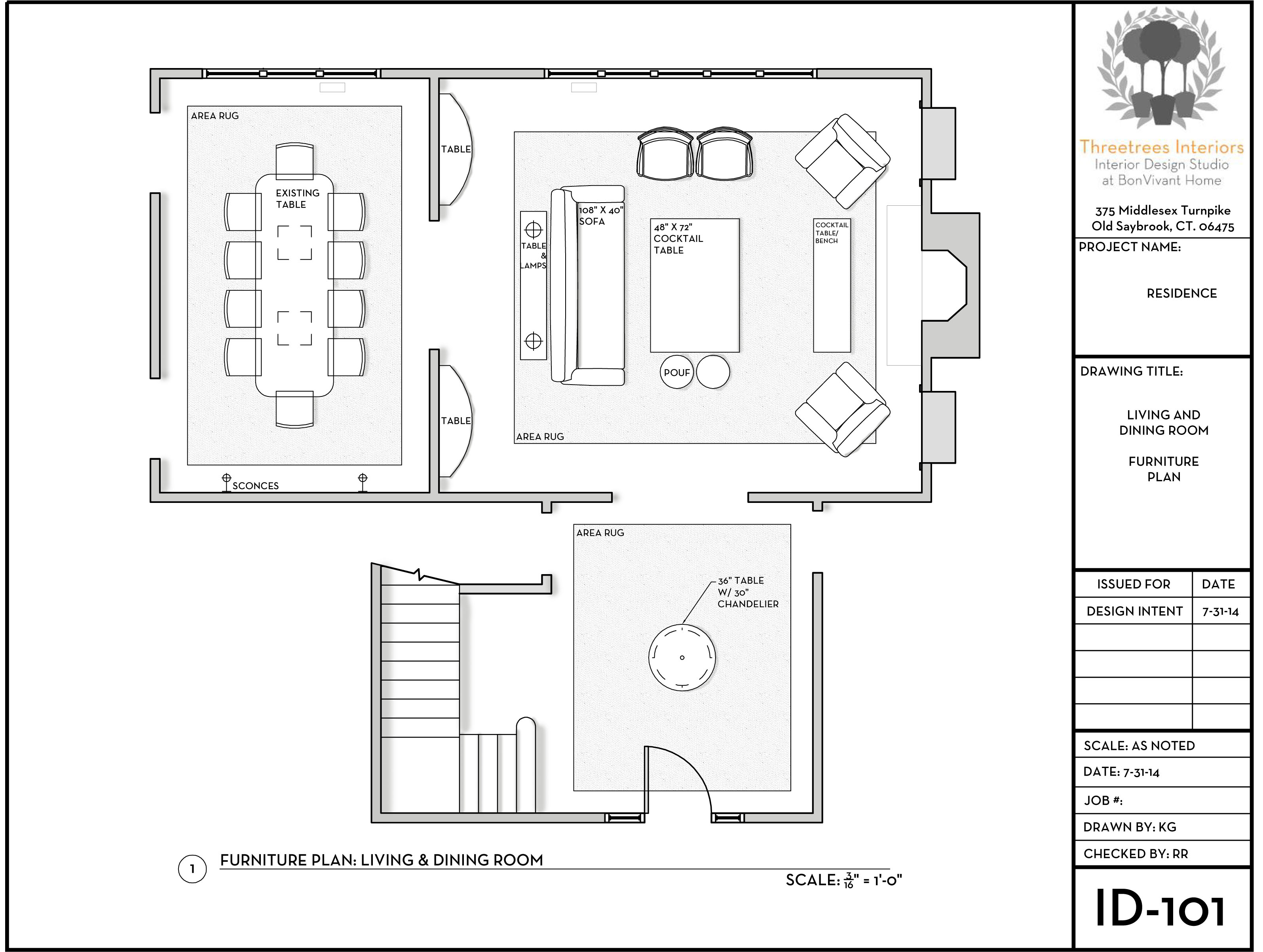 Space Planning And Schematic Design