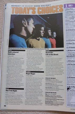 Radio Times Magazine August 1996 Star Trek anniversary