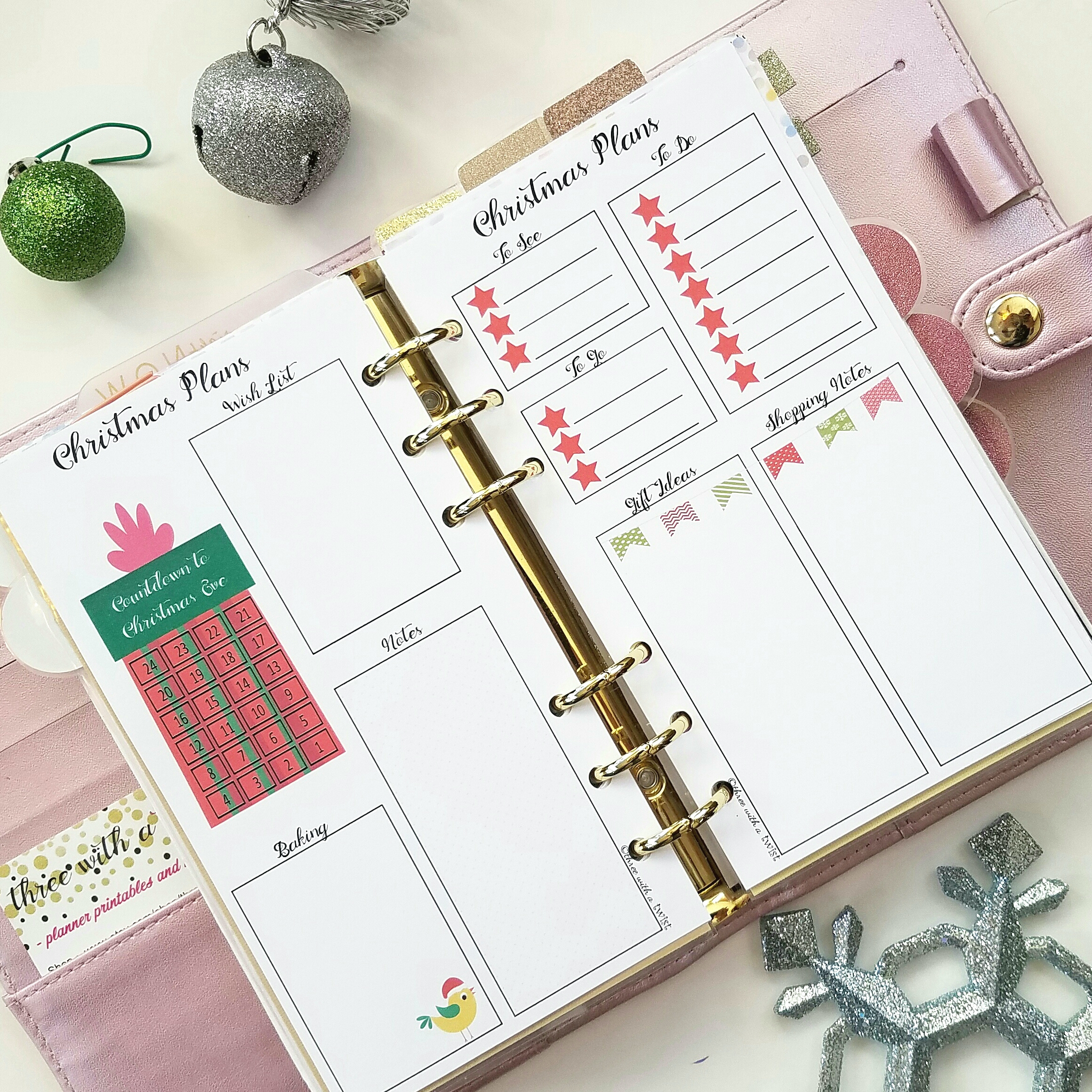 image relating to Free Happy Planner Printable Inserts referred to as Cost-free Printables 3 with a twist