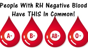 People With RH Negative Blood Are Special And Have Characteristics That Are Just Different.