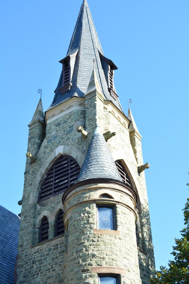 Church spire. Photo by Mike Hartley