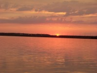 Sunset from Fagers Island Photo by Mike Hartley
