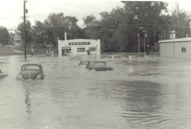 The Homoco gas station off Rt 1 in Laurel. Photo by Mike Hartley