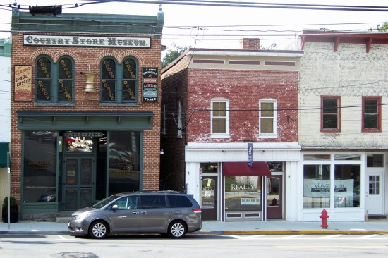 Storefronts Photo by Mike Hartley