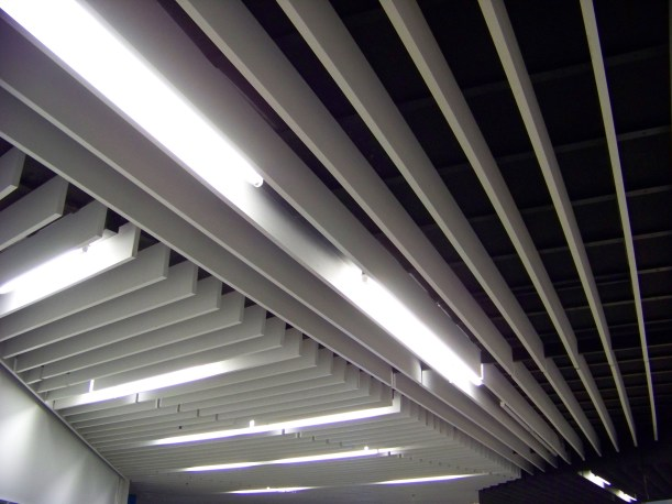 Even the ceilings are developing heat fins to cool off. Photo by Mike Hartley