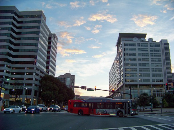 Looking north on Colesville Rd and 2nd Ave looking north. Photo by Mike Hartley