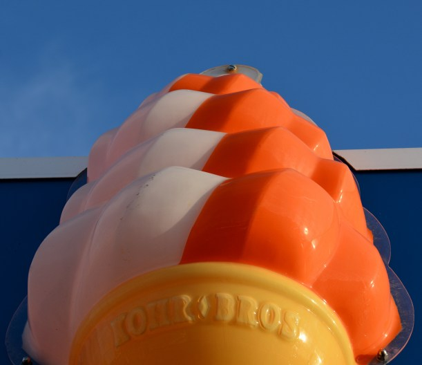 Rather large twist cone. Photo by Mike Hartley