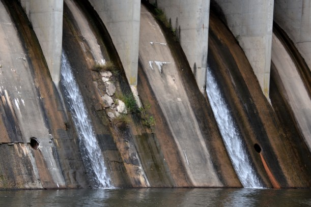 Dam, or is it Damn? Damned if I know. Photo by Mike Hartley