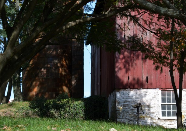 Barn and Silo Photo by Mike Hartley