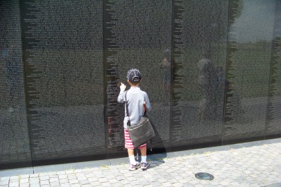Young and old are touched by this. Photo by Mike Hartley