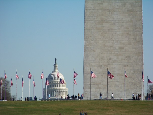 Washington Monument and Capital Photo by Mike Hartley