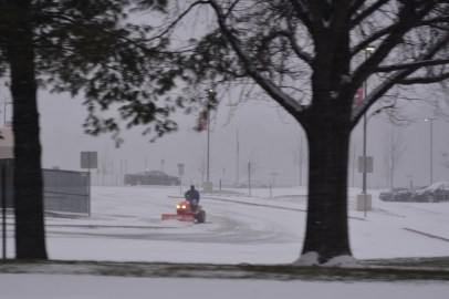 Your going to need a bigger plow. Centennial HS Photo by Mike Hartley