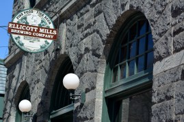 Ellicot Mills Brewing Co. exterior. Photo by Mike Hartley