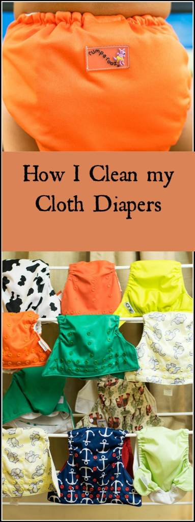 This is my cloth diaper washing routine. This is what works for me.