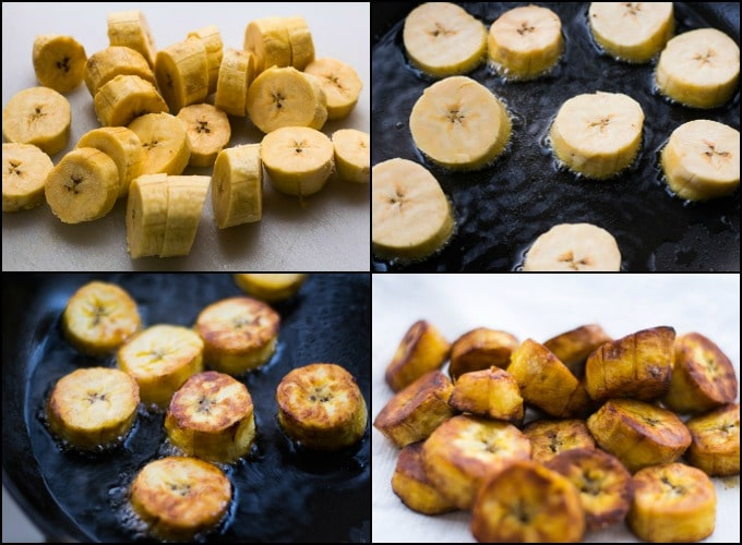 Plantains are cheap, delicious and incredibly easy to prepare.