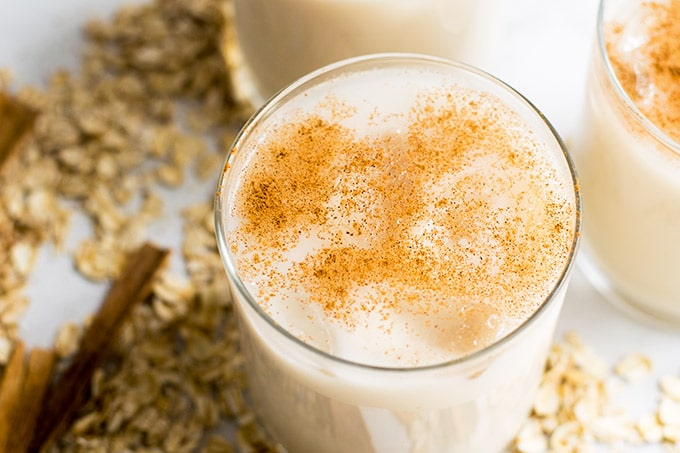 Agua de avena is an agua fresca made from oats. Not only is this beverage delicious it is also healthy.