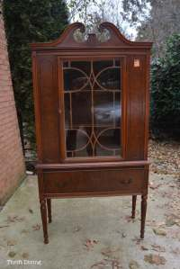 BEFORE & AFTER: My China Cabinet Makeover Using Beyond Paint