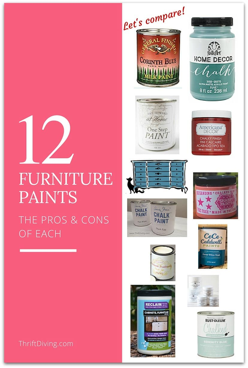 What's The Best Paint For Furniture?  Thrift Diving Blog