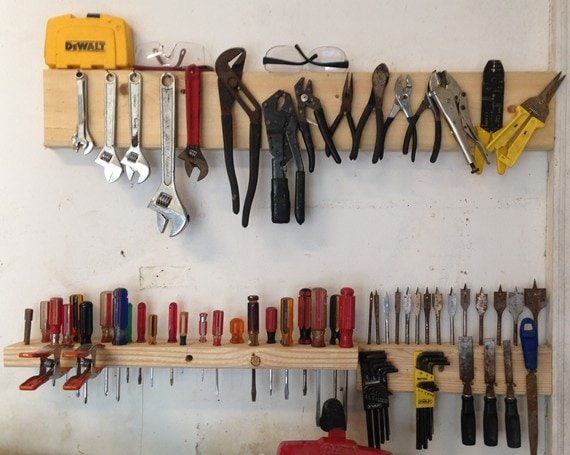 Storing Power Tools In Garage