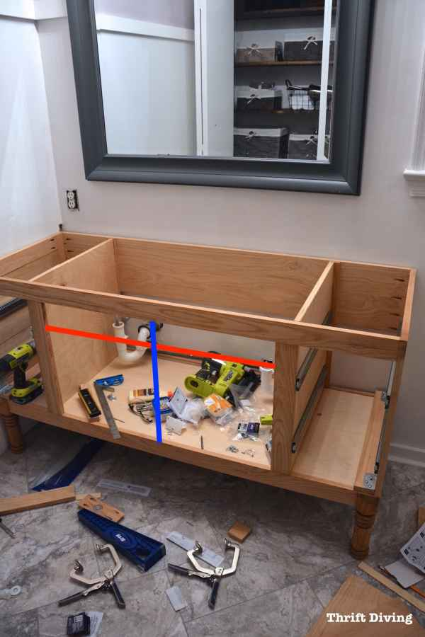 Building Diy Bathroom Vanity Part 5 - Making Cabinet Doors