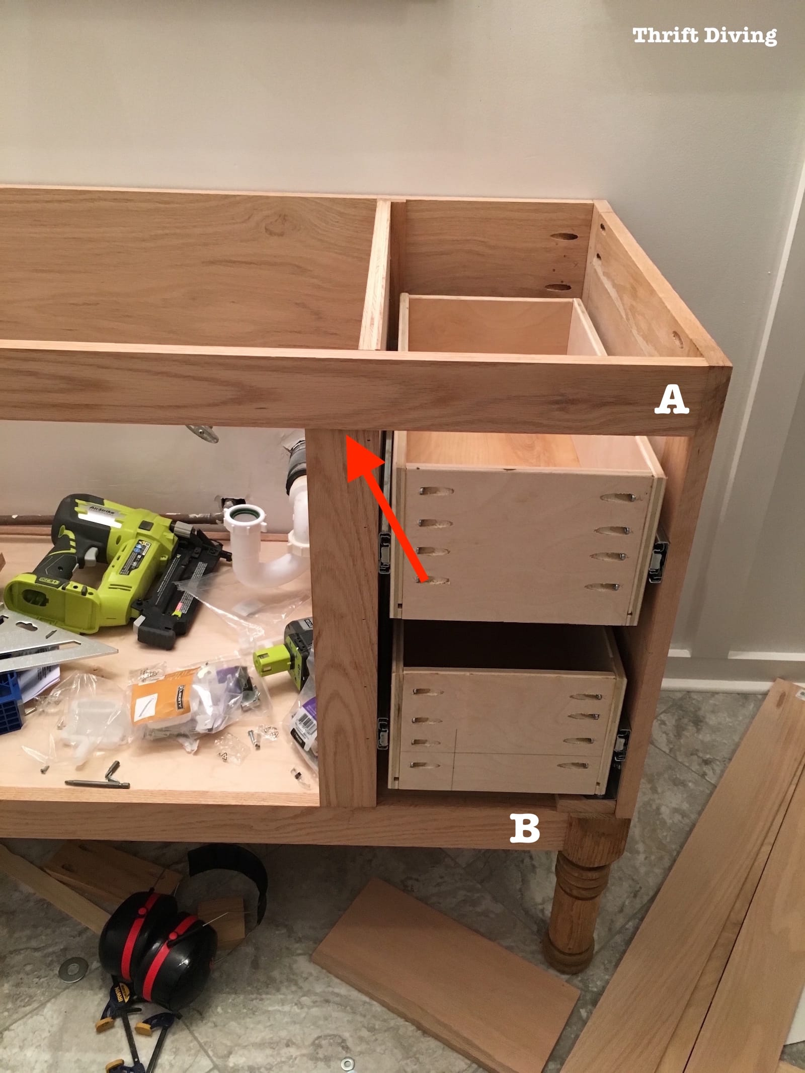 How To Make A Drawer Cabinet
