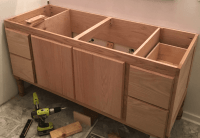 Building a DIY Bathroom Vanity: Part 5