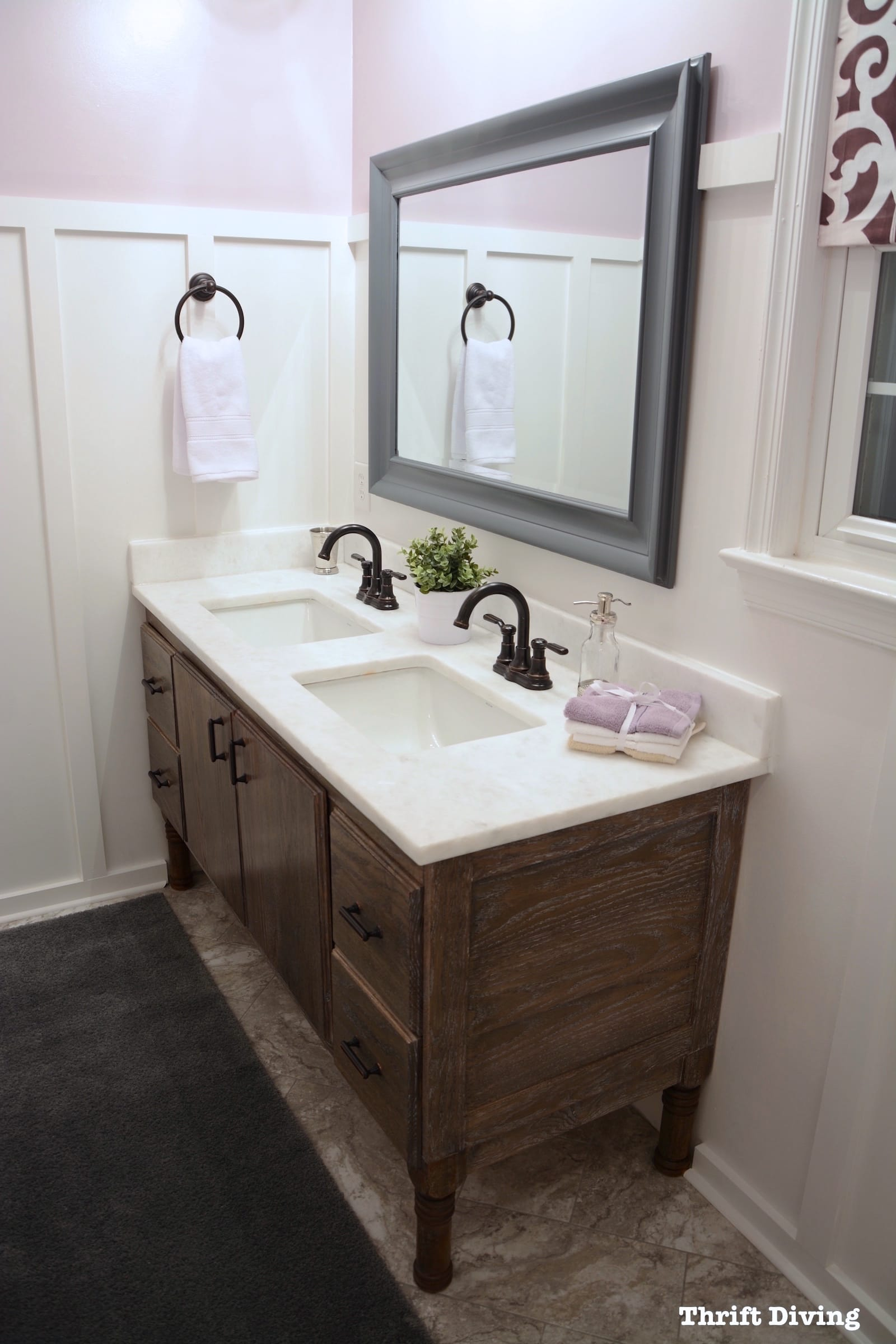 How to Build a 60 DIY Bathroom Vanity From Scratch