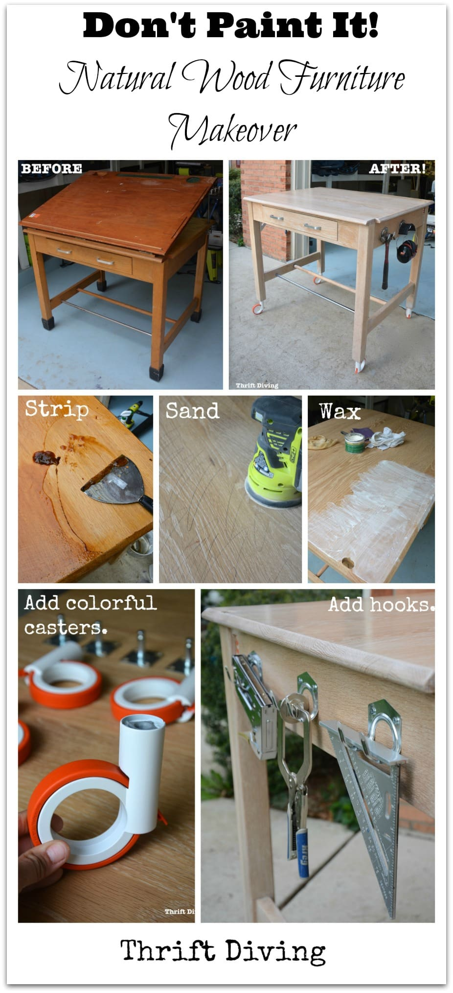 Briwax Over Chalk Paint