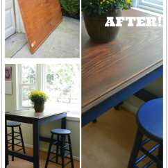 Diy Kitchen Tables Faucets On Sale Before And After Eat In Table Makeover Save