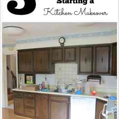 Kitchen Make Over Canvas Wall Art 5 Questions You Must Ask Before Starting A Makeover Thrift Diving Blog