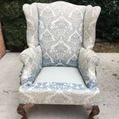 Material For Chairs To Recover Couch Loveseat And Chair Covers How Reupholster A Wingback Step By