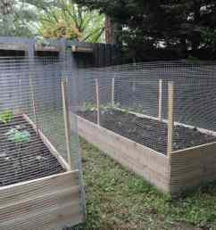 how to build a raised garden bed protected with a metal fence how much do [ 1280 x 1920 Pixel ]