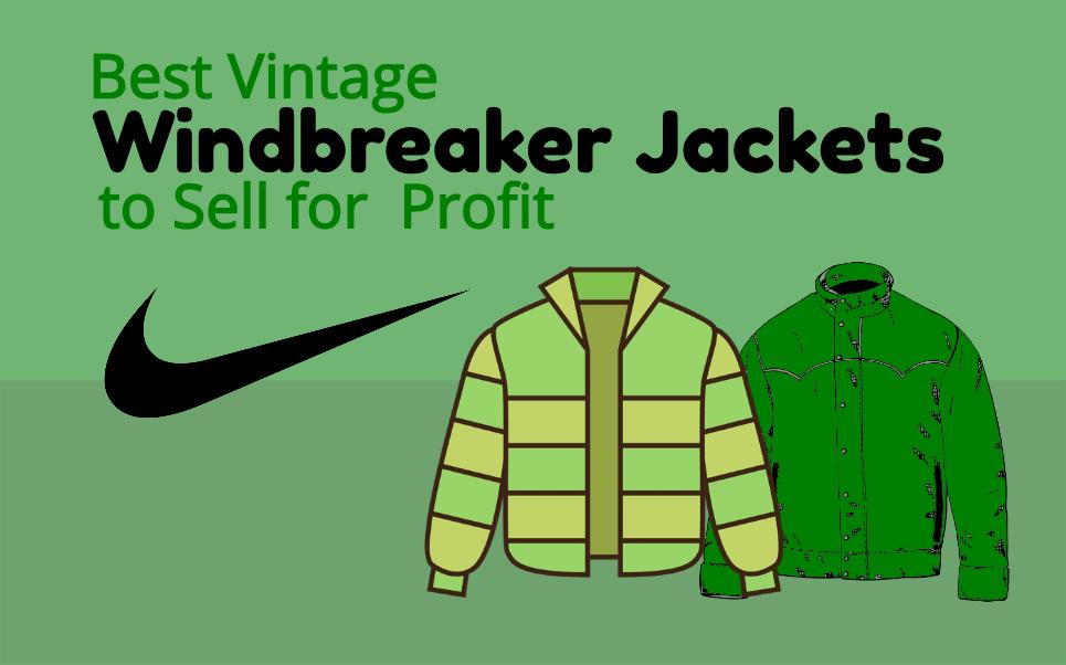 Best Vintage Windbreaker Jackets to Resell on eBay for Profit