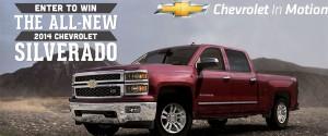 2014 Chevrolet Silverado with General Motors Sweepstakes