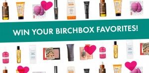 Birchbox Win Your Favorites' Facebook Sweepstakes
